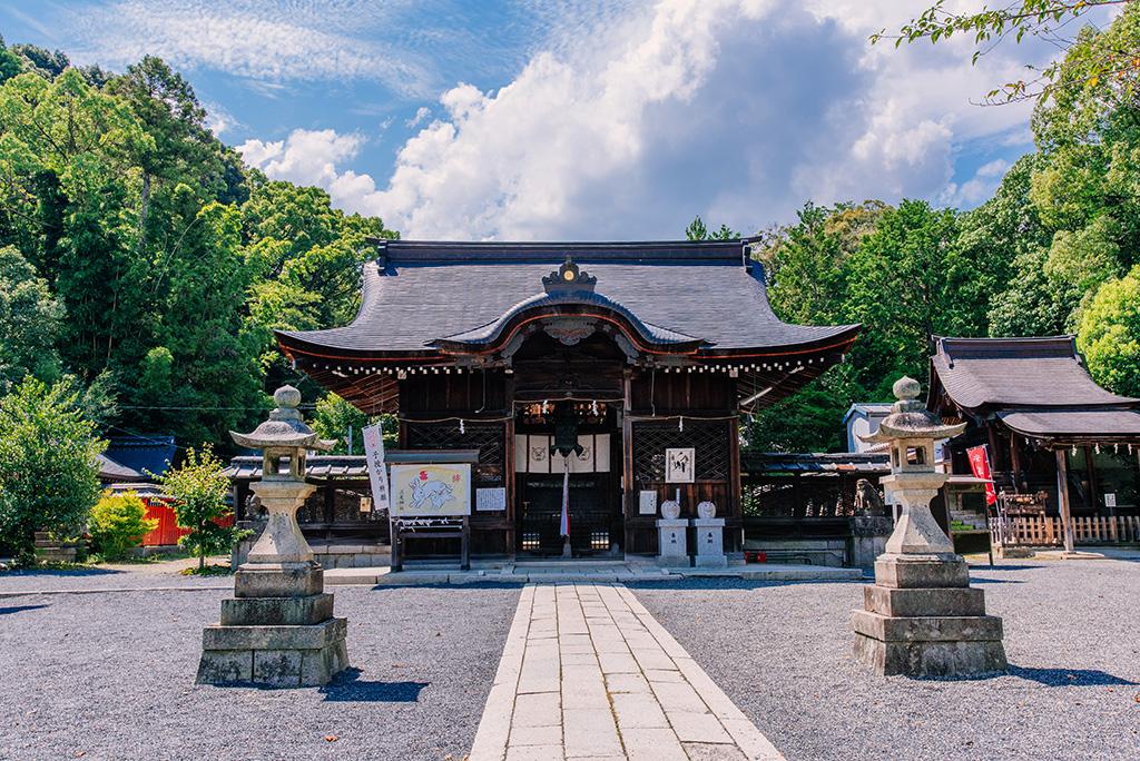 Le sanctuaire Mio-jinja