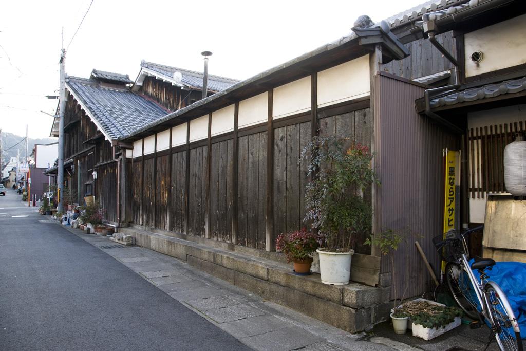 初田家住宅塀