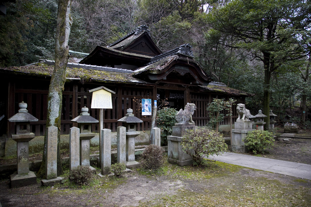 関蝉丸神社(せきせみまるじんじゃ)